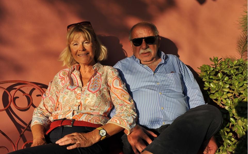 Montofoli Wine Estate Marianne and Pavlos