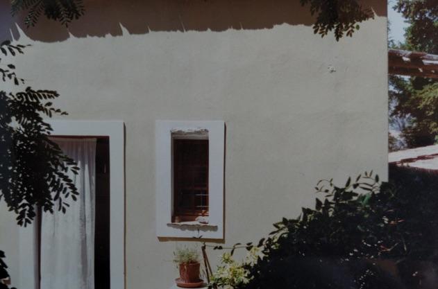 Montofoli Wine Estate Villa Marianna kitchen window restored