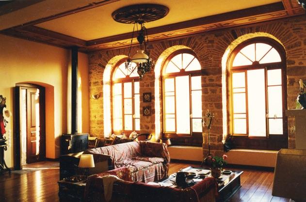 Montofoli Wine Estate arched venetian windows restored