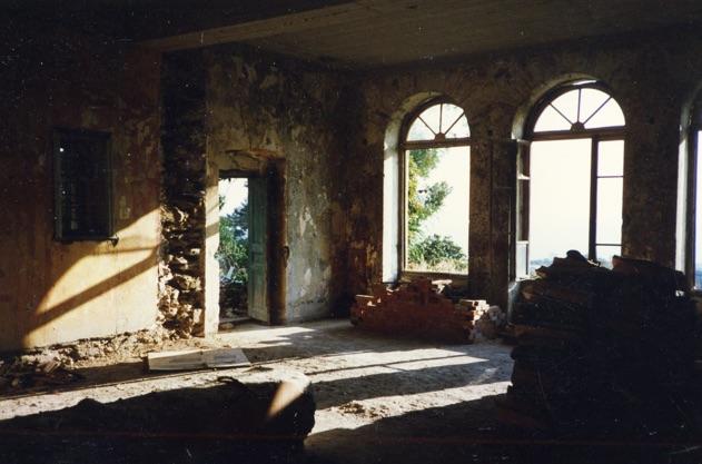 Montofoli Wine Estate arched venetian windows