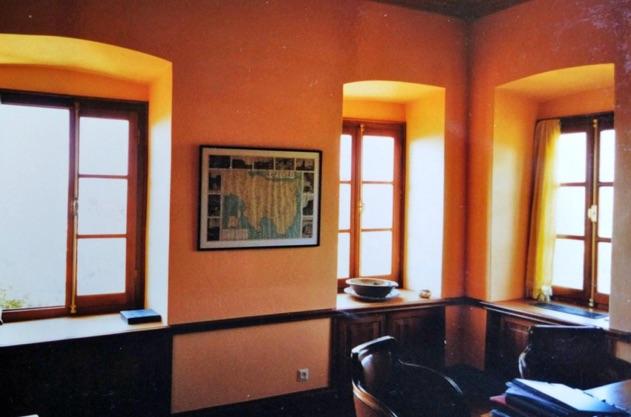 Montofoli Wine Estate Villa Marianna veranda restored