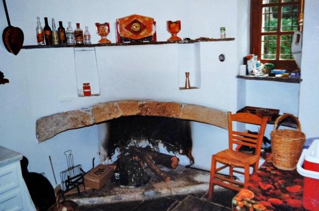 Montofoli Wine Estate Villa Marianna kitchen restored