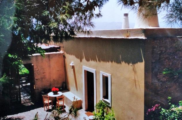 Montofoli Wine Estate Villa Marianna terrace restored