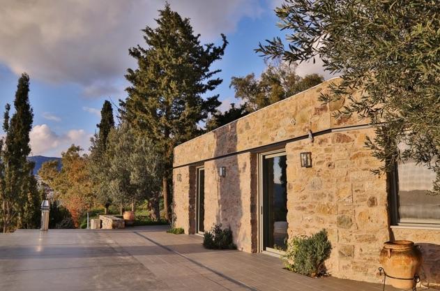 Montofoli Wine Estate Villa Amfithea restored